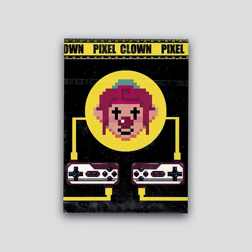 Pixel Clown Playing Cards - Limited to 750