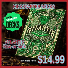 Kickstarter Decks Atlantis