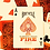 Thumbnail: FIRE Bicycle Elements Series Playing Cards Deck