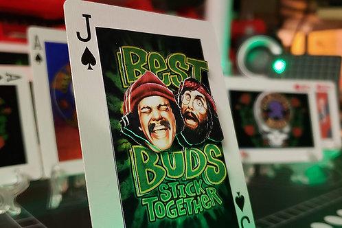 Cheech & Chong BEST BUDS - 3D Art Card