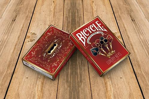 Bicycle Luxury Keys Playing Card Kickstarter Deck