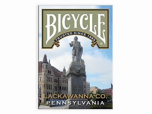 LACKAWANNA Co. Pennsylvania BICYCLE Playing Cards Kickstarter Deck