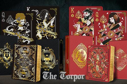 Geung Si & Vampire (The Torpor Edition) Playing Card Kickstarter Decks