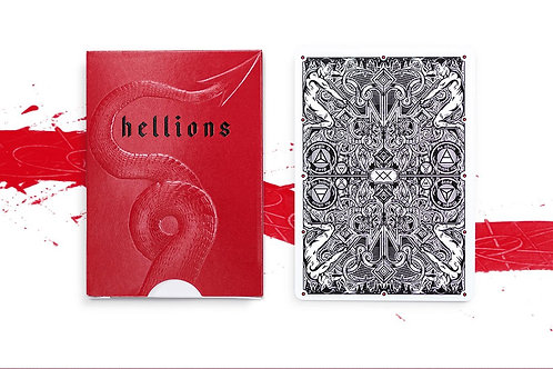 Hellions v4 Cartamundi B9  Playing Card Deck