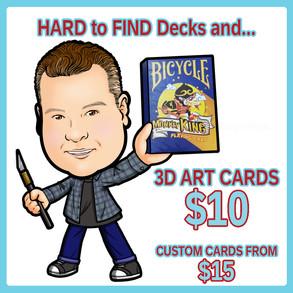3DArt Cards and Decks