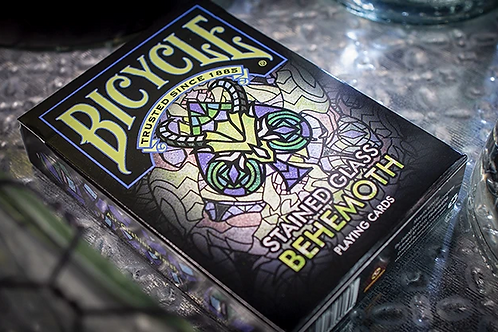 Stained Glass Behemoth Bicycle Playing Cards Deck