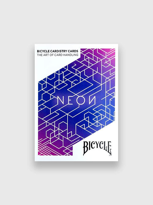 BICYCLE Neon Blue Aurora Playing Cards by USPCC