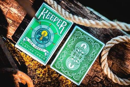Sea Green Keeper Playing Cards Catamundi Deck