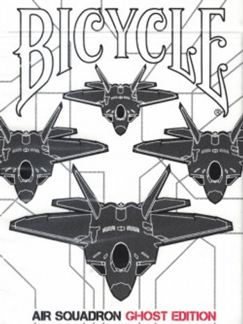 Air Squadron Ghost Bicycle Playing Cards Deck