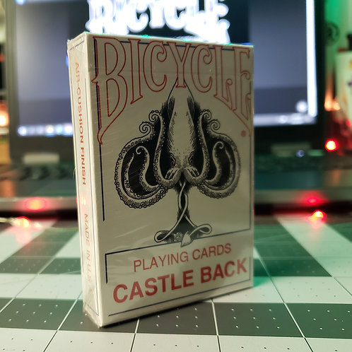 CASTLE BACK Bicycle Playing Cards Deck