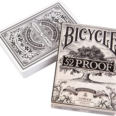 52 Proof Bicycle Playing Cards Deck by Ellusionist
