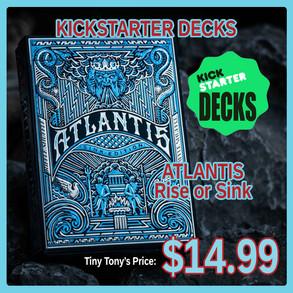 Kickstarter Decks Atlatis
