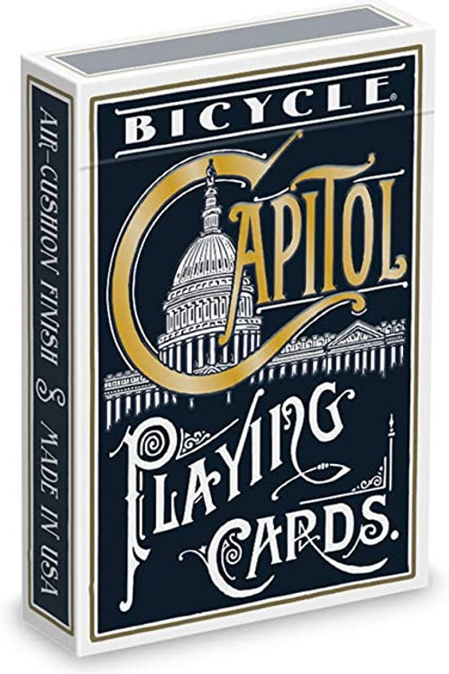 Capitol (Blue) Bicycle Playing Cards Deck