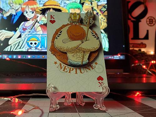 King NEPTUNE of One Piece 3D Art Card