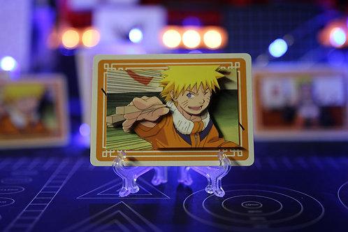 NARUTO with Ramen Chop Sticks Limited Edition - 3D Art Card