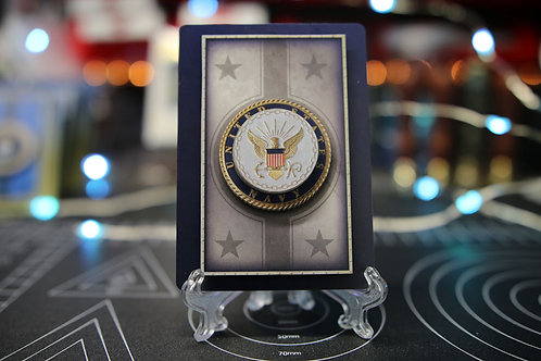 The United States Navy - 3D Art Card