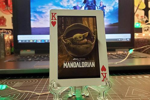 The Child Grogu The Mandalorian - 3D Art Card