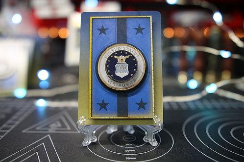 United States Air Force - 3D Art Card
