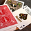 Thumbnail: Hesslers Rider Back (Red) BICYCLE Playing Cards Deck