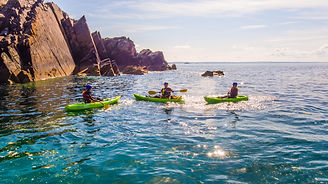 WCP_PORTHCLAIS HARBOUR KAYAKERS 1.JPG