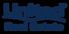 United Real Estate Logo-Blue on White.pn