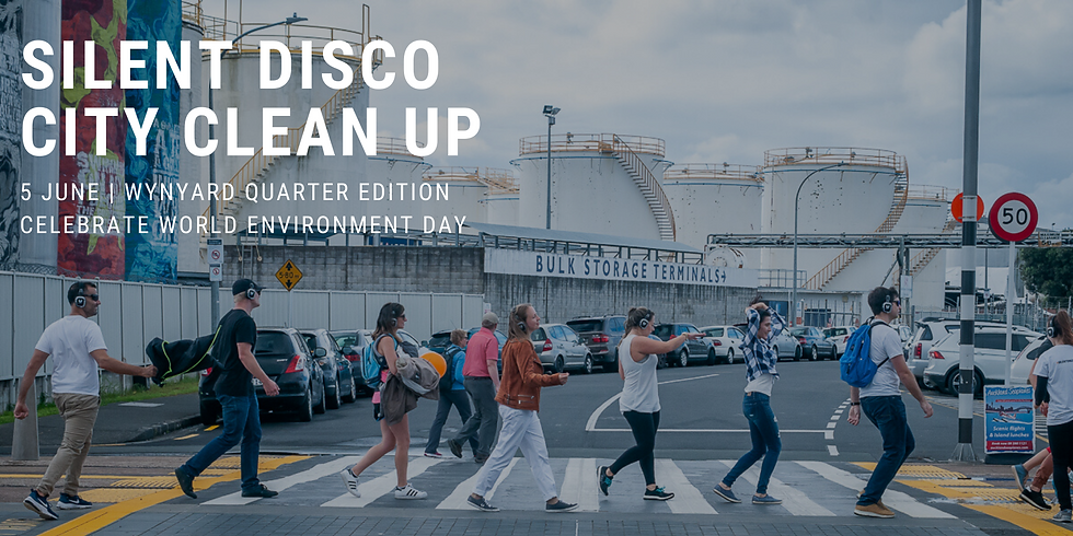Free Silent Disco City Clean Up - Waterfront