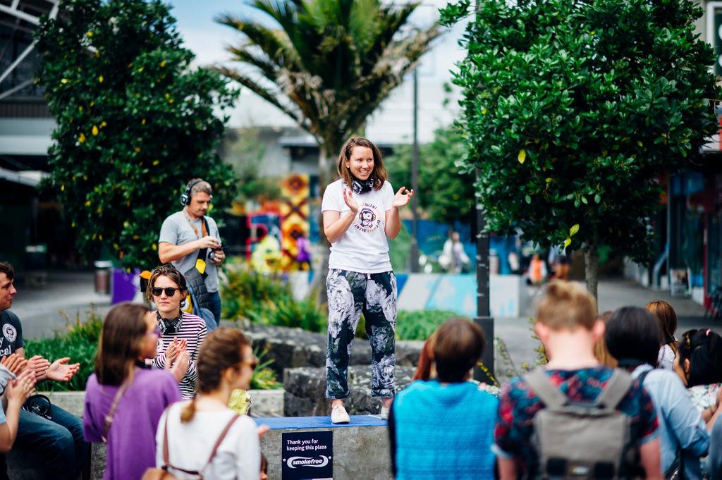 Silent Disco Citywalk for birthdays