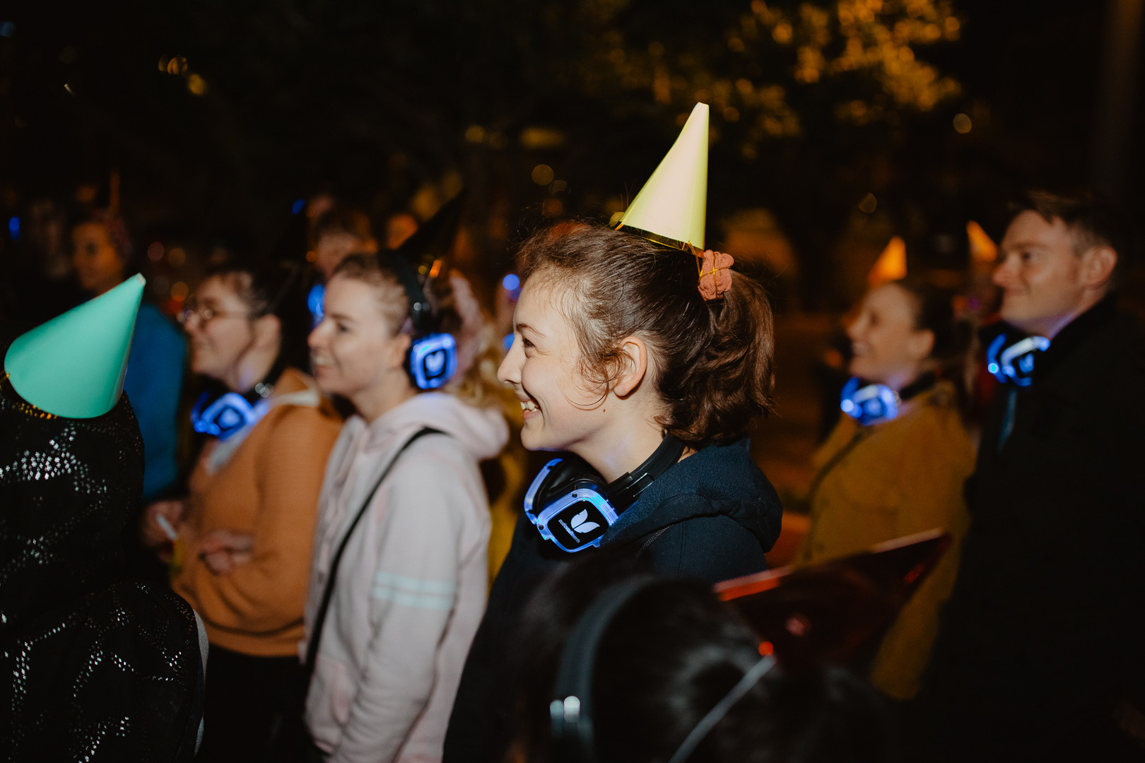 Silent Disco with your friends birthday