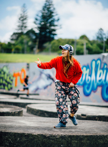 Hip hop silent disco citywalk