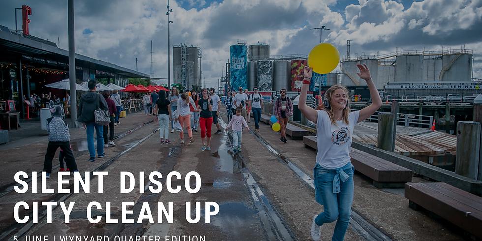 Free Silent Disco City Clean Up - Silo Park