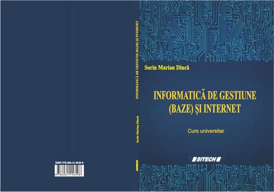 Informatică de gestiune (baze) și internet