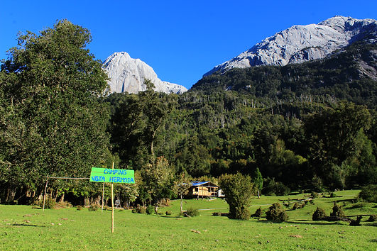 Camping Vista Hermosa, Valle de Cochamó, La Junta