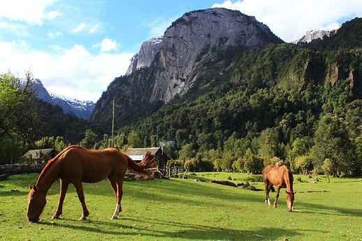 Valle de Cochamó, camping, la junta, toboganes, cochamo, escalada, cerro trinidad, camping La Junta, cabalgatas