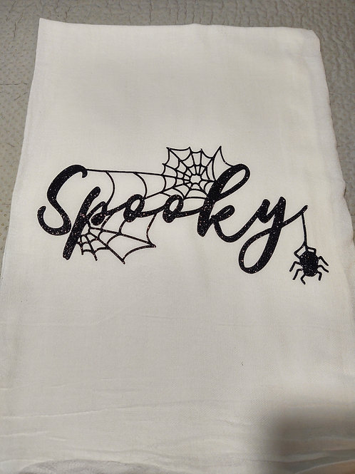 Spooky Halloween Dishcloth
