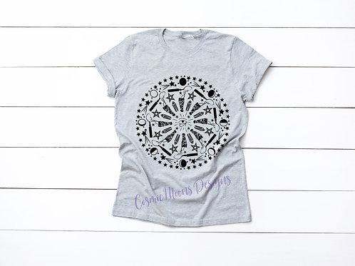 Crystal/Sage Mandala T-shirt
