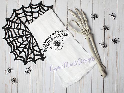 Witches Kitchen Dishcloth