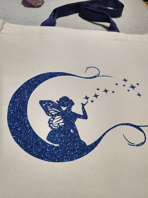Fairy-Moon Tote Bag