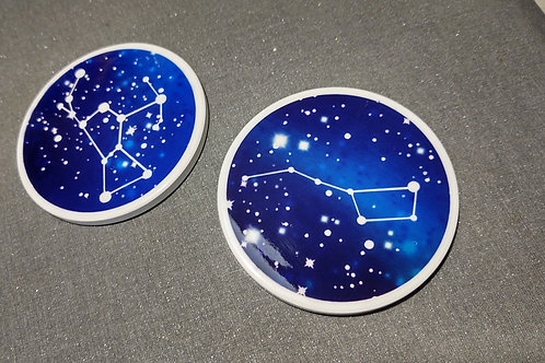 Constellation Ceramic Coasters