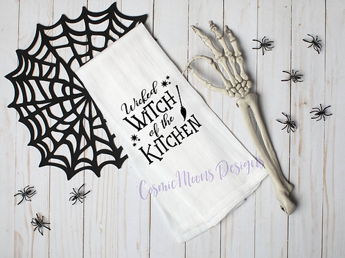 Wicked Witch Dishcloth