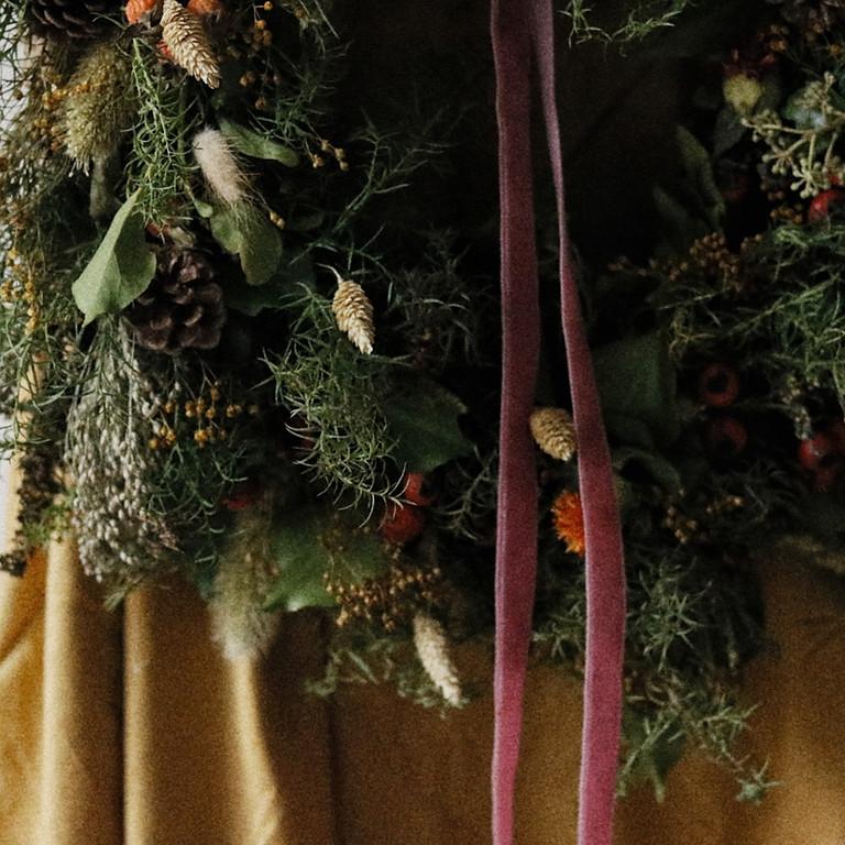 Winter Wreath Making - Friday 3rd Dec - £65