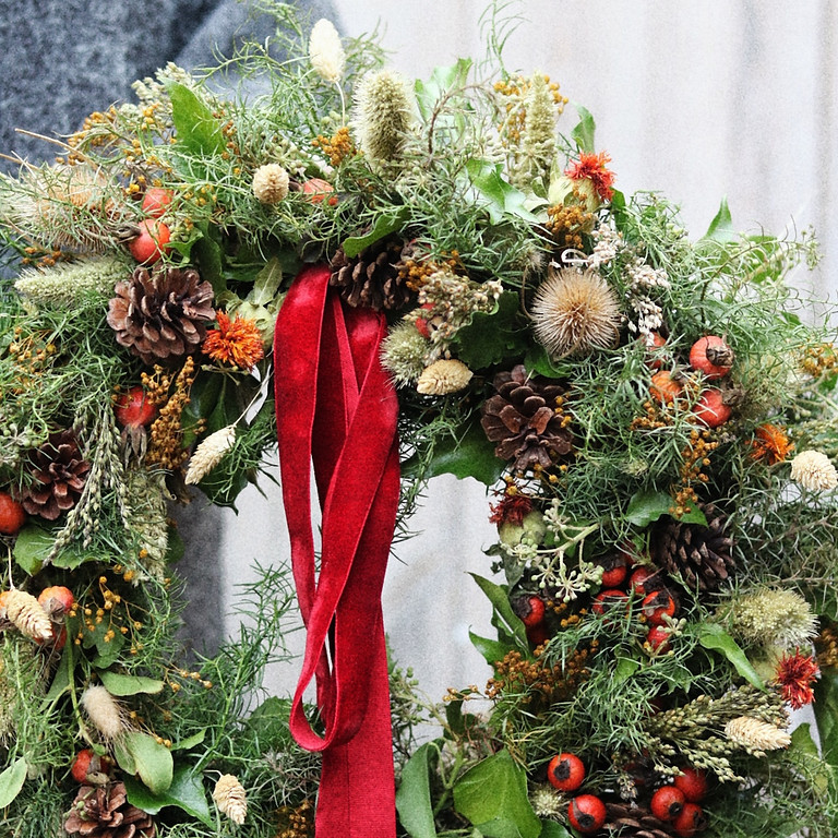 Winter Wreath Making - Sunday 12th Dec - £65