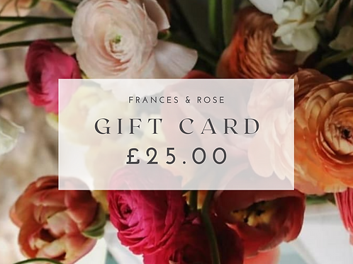 £25.00 Gift Card