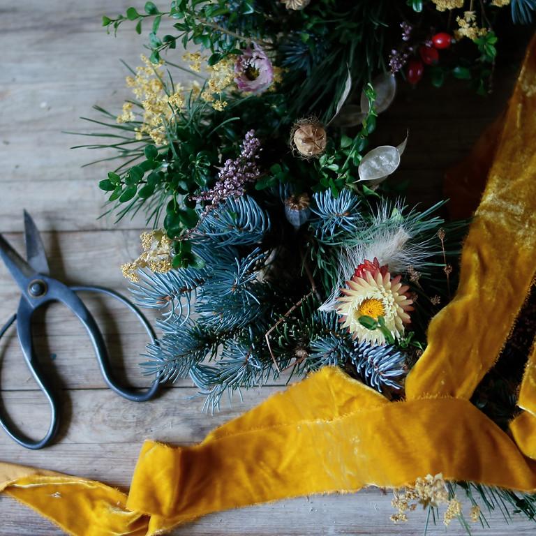 Winter Wreath Making - Friday 10th Dec - £65