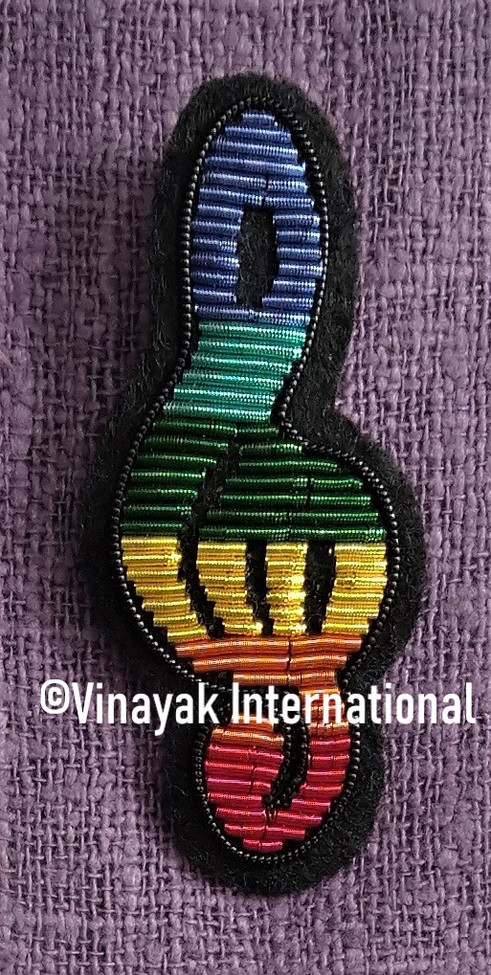 Multicolour Music Motif