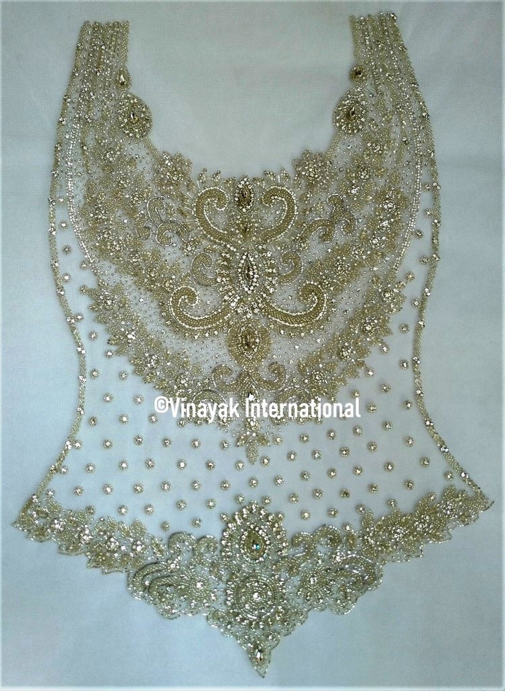 Silve and Gold Panel