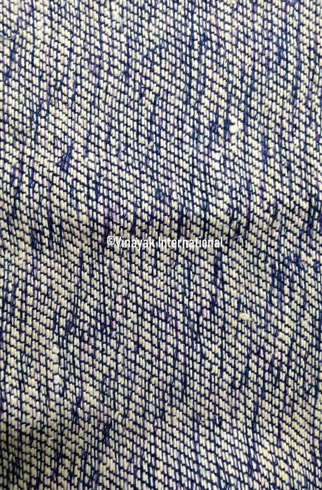 Abstract silk fabric