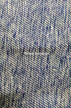 Abstract silk fabric