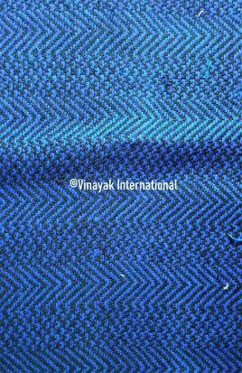 Dazzling Electric Blue silk fabric