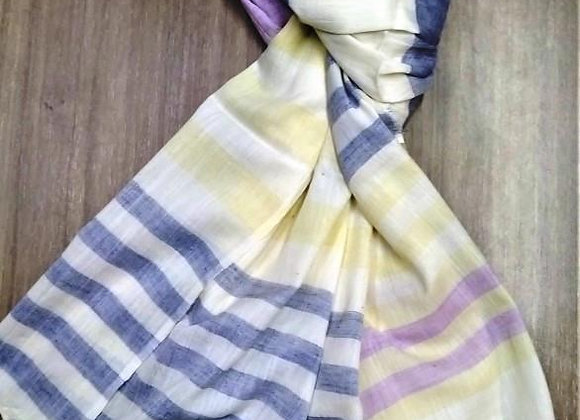 Gorgeous Blue & Yellow scarf/stole
