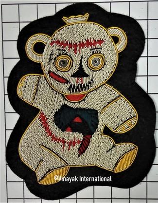 Creepy bear Motif